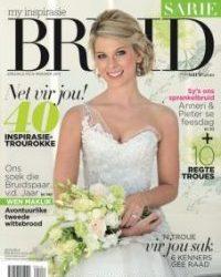 Our LilyBlue styled Real Bride won Sarie Bruid van die Jaar !