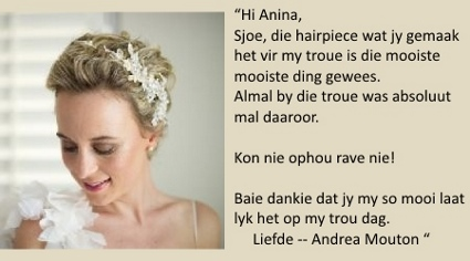 LilyBlue Real Wedding Testimonial -Andrea