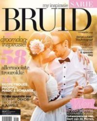 LilyBlue Accessories featured in Sarie Bruid as part of a number of styled wedding shoots.