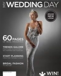 MyWeddingDay Bridal Magazine - With our Lilyblue Styled Shoot on the cover :-)