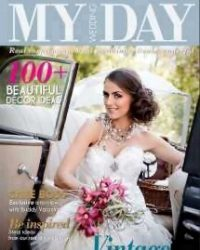 MyWeddingDay Bridal Magazine - With our Lilyblue Styled Accessories on the cover :-)