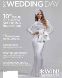 MyWeddingDay Bridal Magazine - With our Lilyblue Styled shoot on the cover