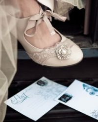 Wedding Shoes and Wedding Shoe Accessories by LilyBlue.