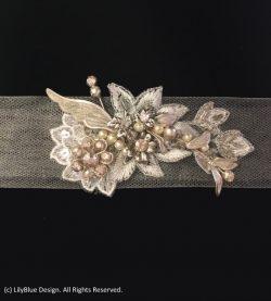 Vine Wedding Dress Sash | by LilyBlue