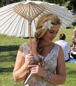 Wedding Parasols | Wedding Accessories by LilyBlue