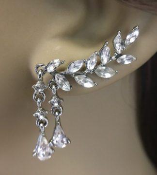 Cubic Zirconia Wedding Earrings 013 By Lilyblue Wedding Accessories
